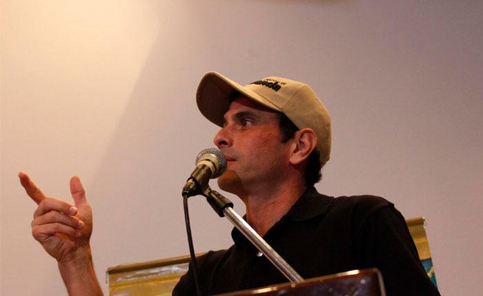 Consejo Legislativo de Miranda declaró persona non grata a Capriles