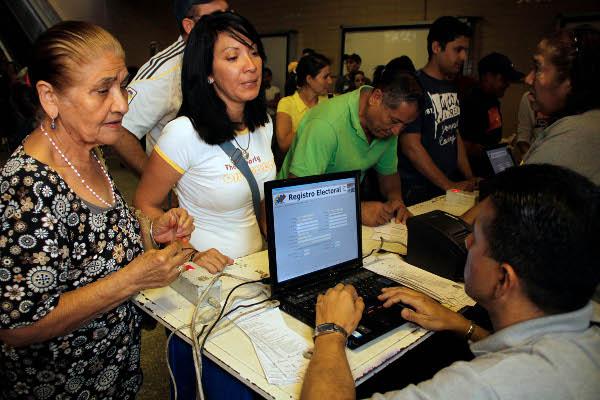 Hoy finaliza el plazo para inscribirse en el Registro Electoral