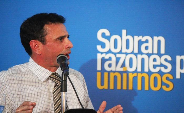 Mira las 6 propuestas de Capriles para superar la crisis económica
