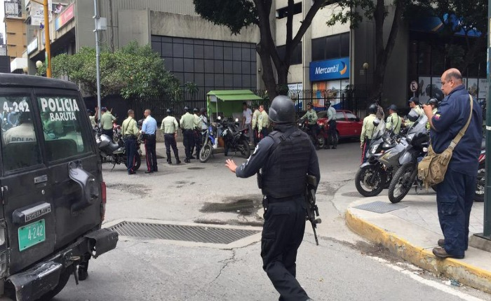 rehenes 6 d ejulio banco de venezuela