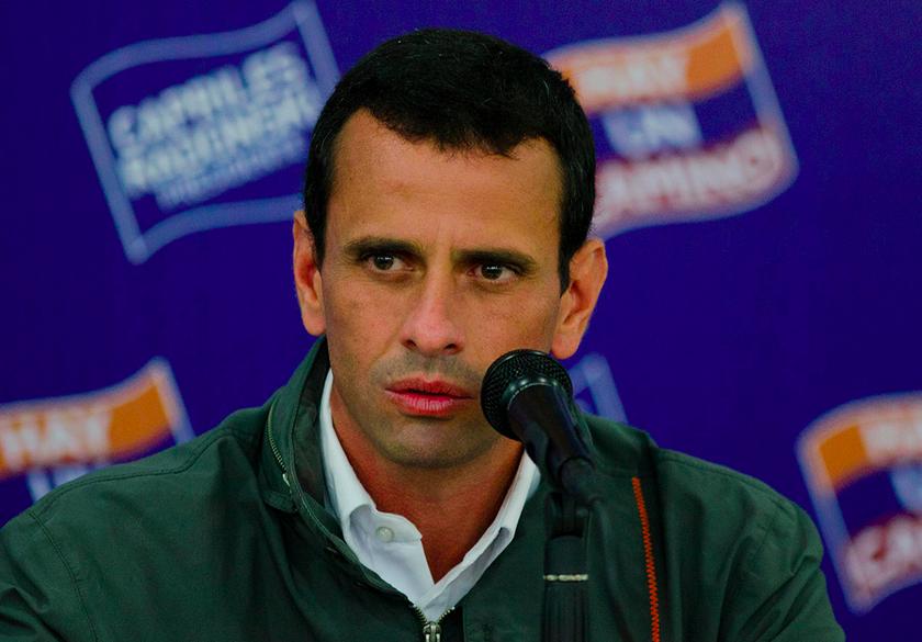 Capriles: Gobierno de Nicolás Maduro está desconectado de la realidad del país