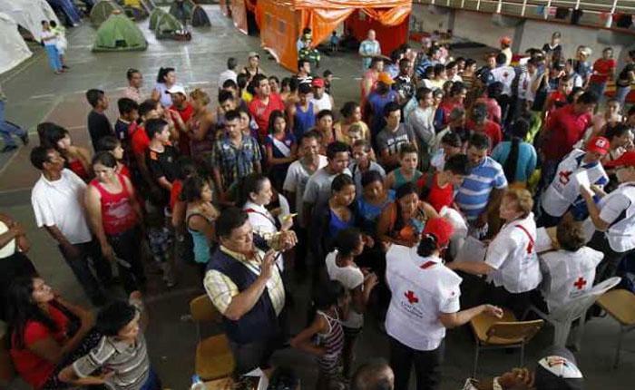 Albergues de Cúcuta se convierten en techo de los deportados