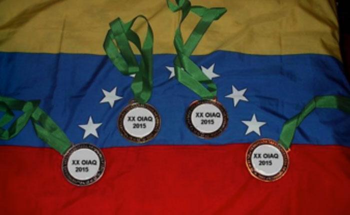 Venezuela se destaca en Olimpiadas Internacionales de Química