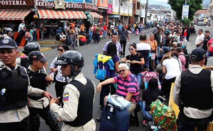 Colombia instaló puesto en Cucuta para atender crisis por cierre de frontera con Venezuela