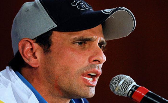 Capriles: Venezuela acumula condiciones para una explosión social