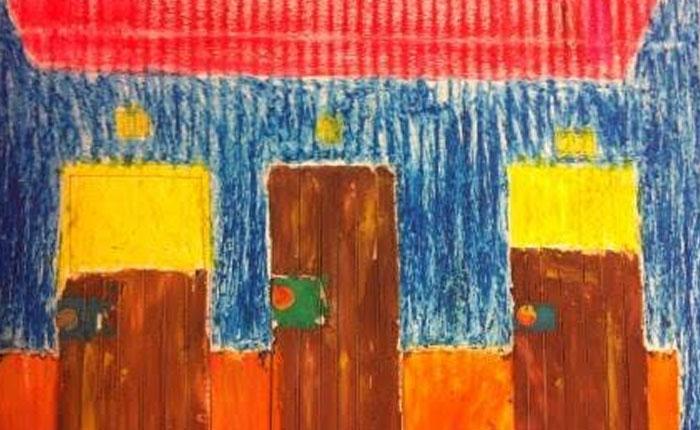 Niños venezolanos exponen por primera vez sus obras en el Castillo de Praga