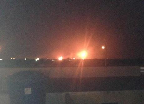 Controlado incendio en la planta de gas Cardón IV