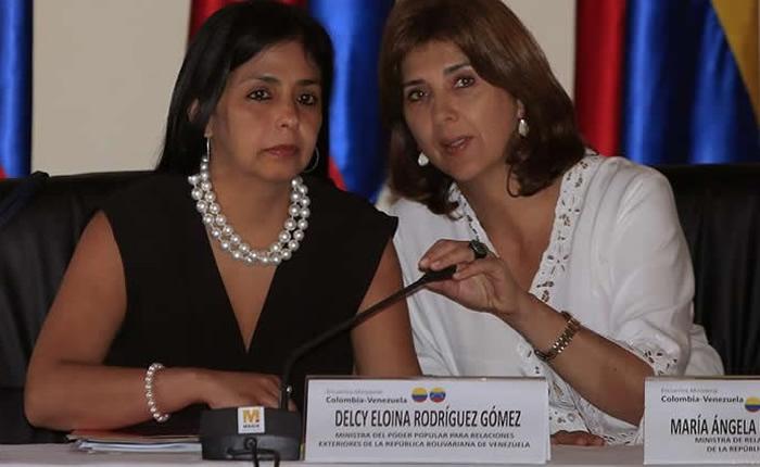 Cancilleres de Colombia y Venezuela se reunirán el 4 de agosto