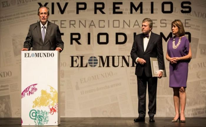 Premiaron en España a la prensa venezolana perseguida por Cabello
