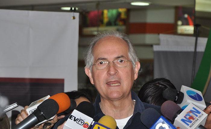 Difieren audiencia de Antonio Ledezma por sexta vez