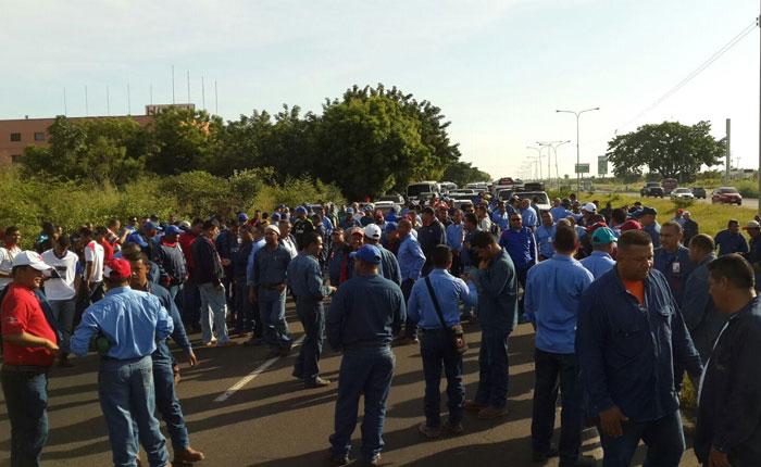 Trabajadores de Guayana vuelven a tomar las calles para exigir mejoras salariales