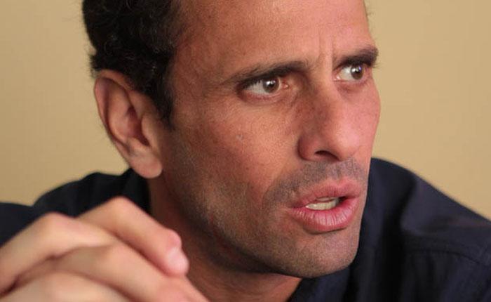 Capriles alerta inminente crisis humanitaria en Venezuela