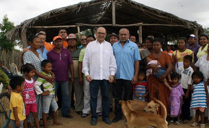 """Hiram Gaviria: """"Los wayúu no están contentos con el cierre de la frontera"""""""