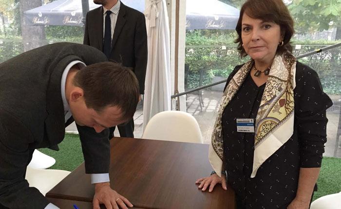 """Alcaldes de Praga firmaron este lunes """"Declaración en apoyo a Ledezma"""