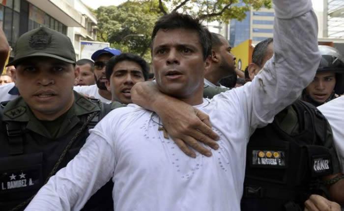 Comunidad internacional reaccionó por medida de casa por cárcel para Leopoldo López