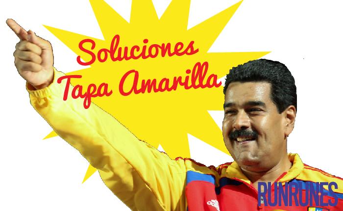 """Seis soluciones """"tapa amarilla"""" de la revolución"""