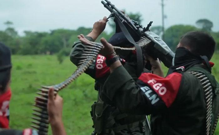 Colombia captura a 8 guerrilleros del ELN