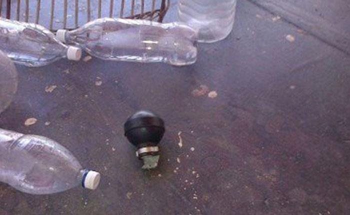 Lanzaron granada en una vivienda en Maracaibo