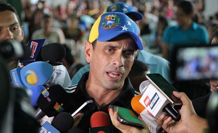 Capriles: Si salimos masivamente a votar va a ganar el cambio