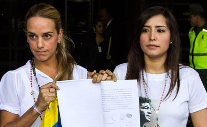 CIDH amplía protección para las esposas e hijos de Leopoldo López y Daniel Ceballos