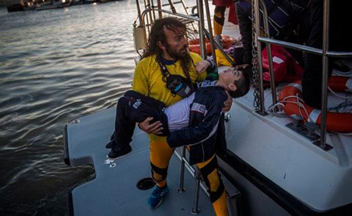 Grecia: la crisis de migrantes se agrava con climas fríos