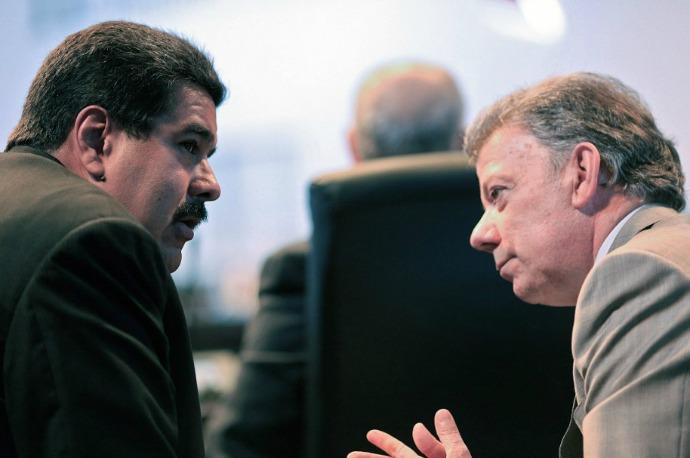 Reunión de Santos y Maduro por el cierre fronterizo será después de noviembre