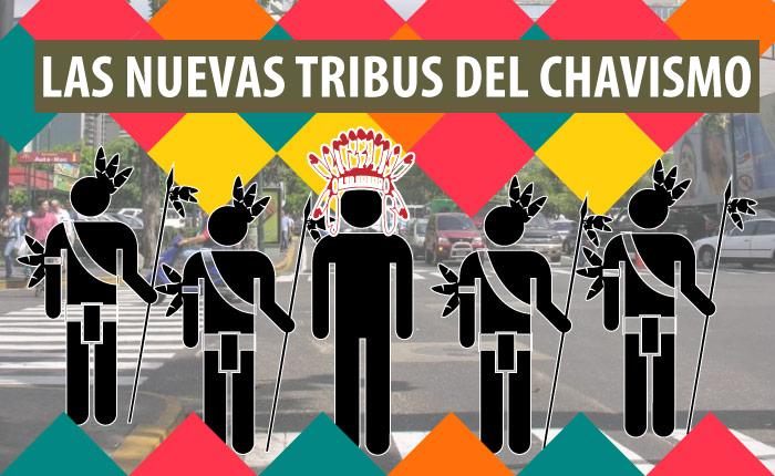 Día de la Resistencia Indígena: las nuevas tribus del chavismo