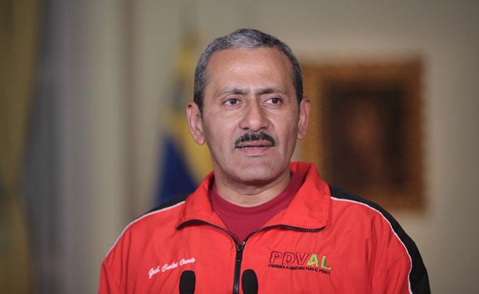Ministro de alimentación se pronunció ante suspensión de operativo Mega Mercal