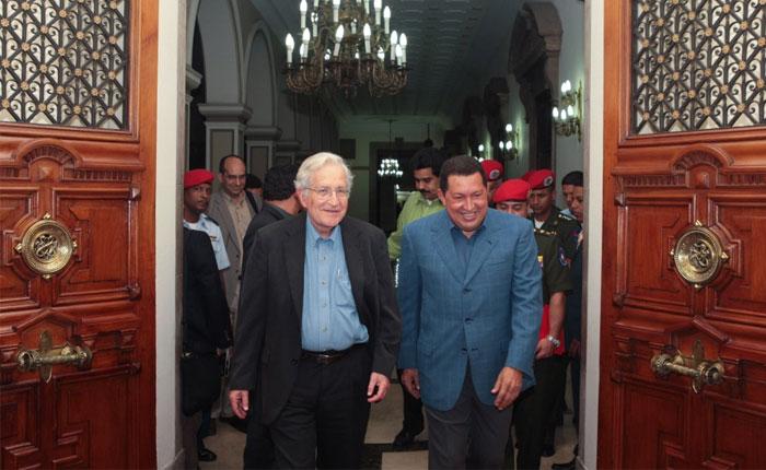 Efecto Chomsky por Rafael Uzcátegui