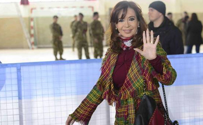 Denuncian a Cristina Fernández por presunta violación de la veda electoral