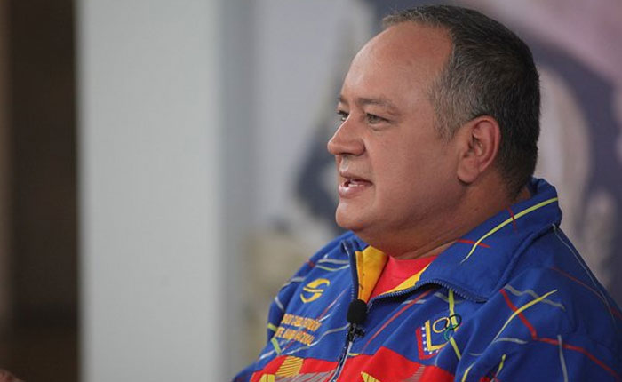 """Cabello dijo que la DEA """"secuestró""""  a familiares de Cilia Flores"""