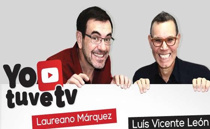 """Laureano Márquez y Luis Vicente León presentan la comedia """"Yo tuve TV"""""""