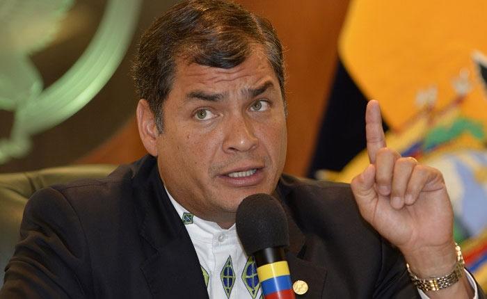 Justicia de Ecuador ordena prisión para expresidente Rafael Correa