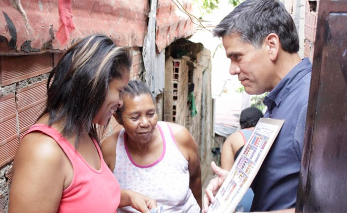 """#Voto2015 Rafael Guzmán: """"La ganas de cambiar de nuestro pueblo es cada vez más fuerte"""""""