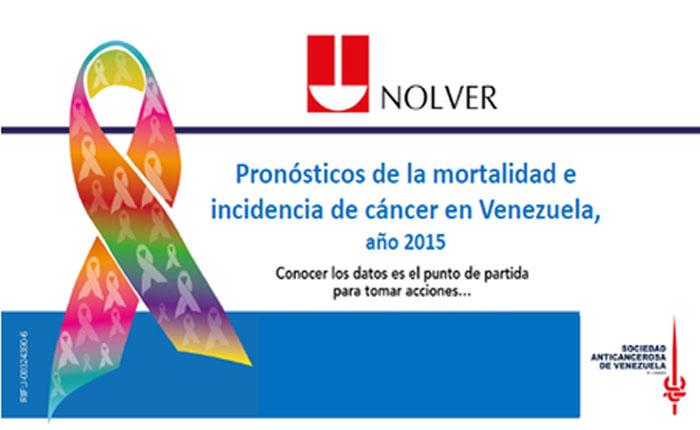 Presentaron estudio de incidencia y mortalidad del cáncer en Venezuela