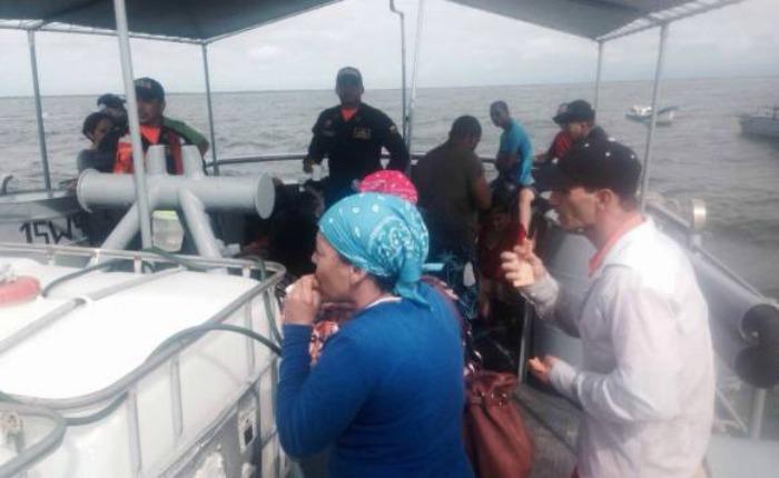 20 inmigrantes cubanos que huyeron de Venezuela fueron rescatados en costa colombiana