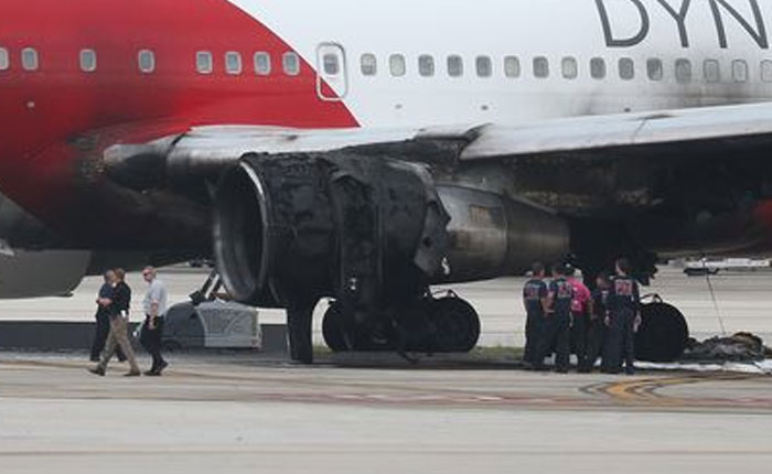 Incendio en vuelo a Caracas se debió a línea de combustible