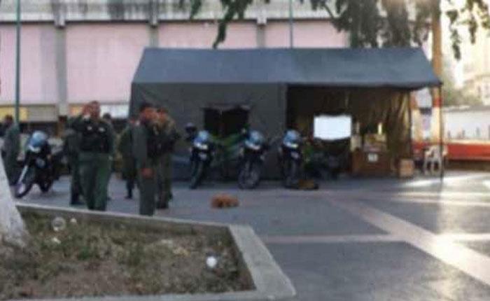 Asesinan a sargento y hieren a otros 6 con granada lanzada en el centro de Caracas
