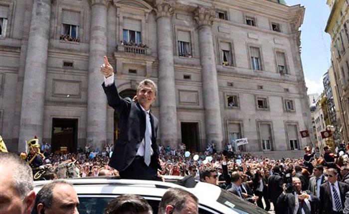 FOTOS Macri juró como presidente de Argentina: llamó a la unidad nacional y condenó la corrupción