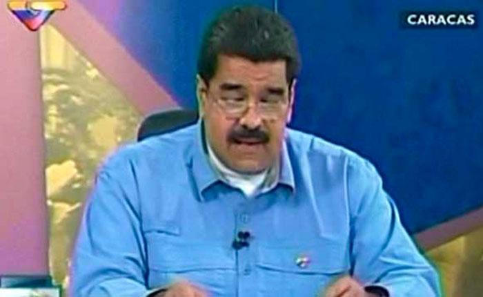 Las 7 perlas que lanzó Maduro en su (re)aparición antes de Año Nuevo