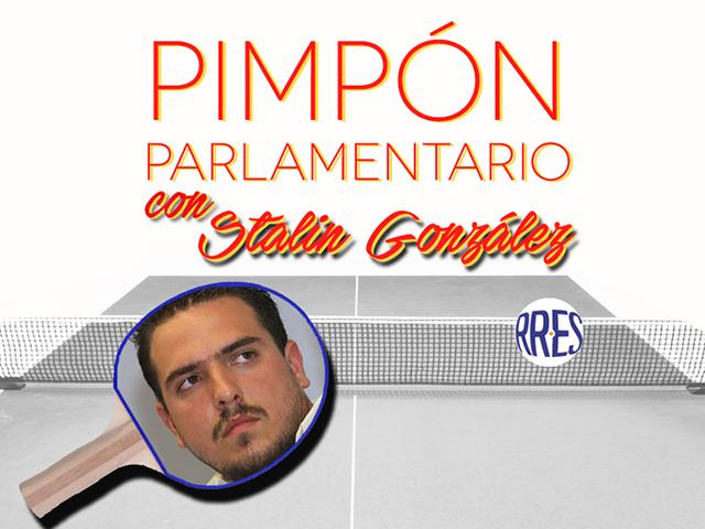 Pimpón parlamentario con Stalin González