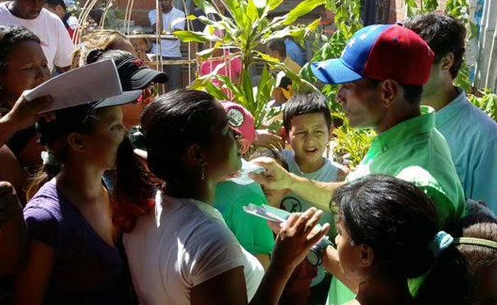 Henrique Capriles: votemos este domingo pensando en que merecemos algo mejor