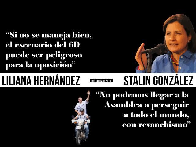 """Liliana Hernández: """"Si no se maneja bien, el escenario del 6D puede ser peligroso para la oposición"""""""