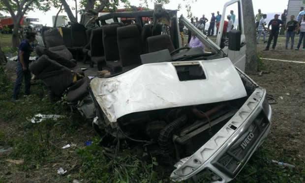 11 personas murieron en accidente vial en Yaritagua