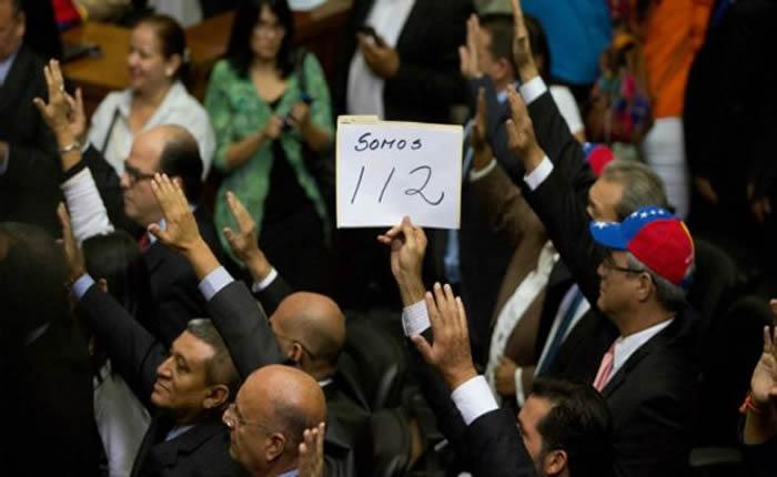 Oposición es mayoría en la Asamblea Nacional