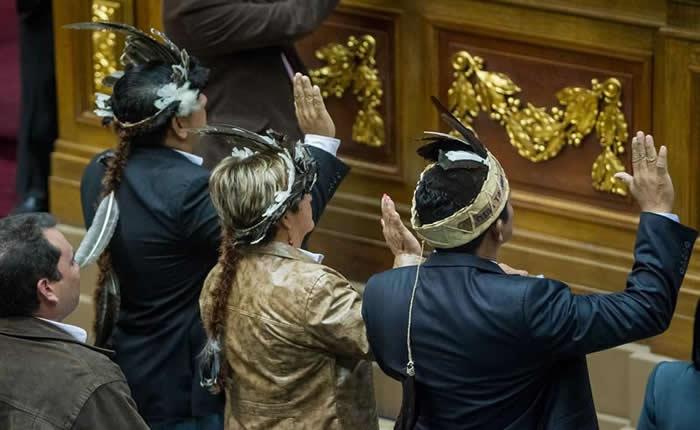 Juramentación de los diputados de Amazonas en la AN