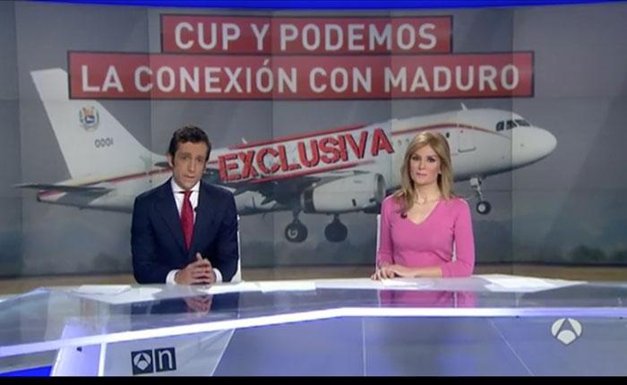 Las imágenes que demuestran la relación de Podemos y el entorno de ETA con Nicolás Maduro
