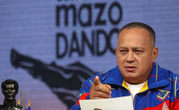 Cabello: Dueños de Televen, Globovisión y Venevisión están metidos otra vez en un golpe de Estado