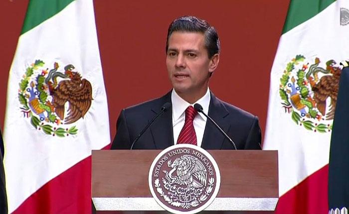 Peña Nieto tras captura de