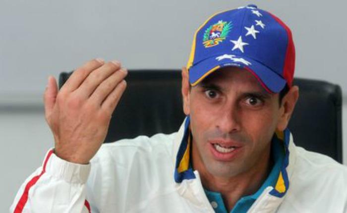 Capriles dice que llegó la hora para revocatorio de Maduro